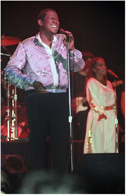 Luther Vandross concert performance