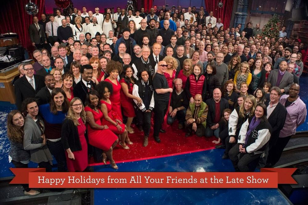 Late Show with David Letterman final Christmas Show with Darlene Love