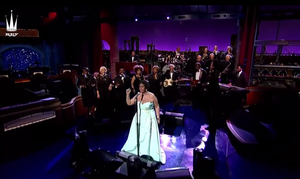 Aretha Franklin on The Late Show with David Letterman