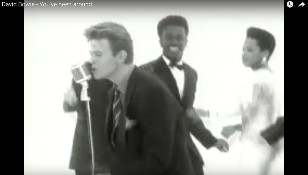 "David Bowie video, ""You've Been Around"""
