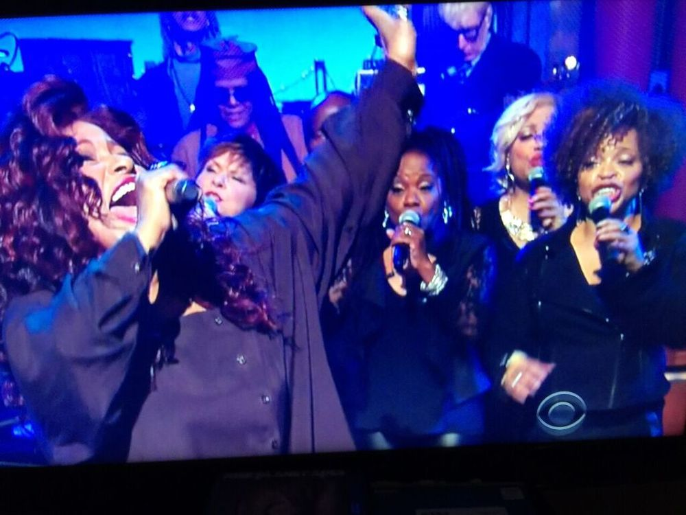 Chaka Khan on The Late Show with David Letterman
