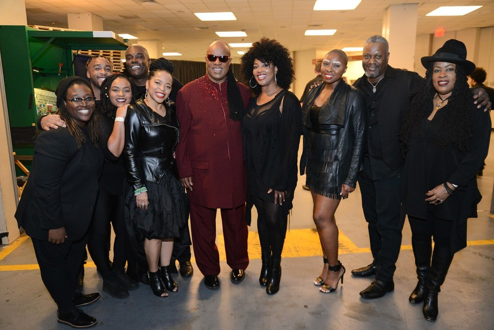Backstage @ Madison Square Garden at Stevie Wonder Concert