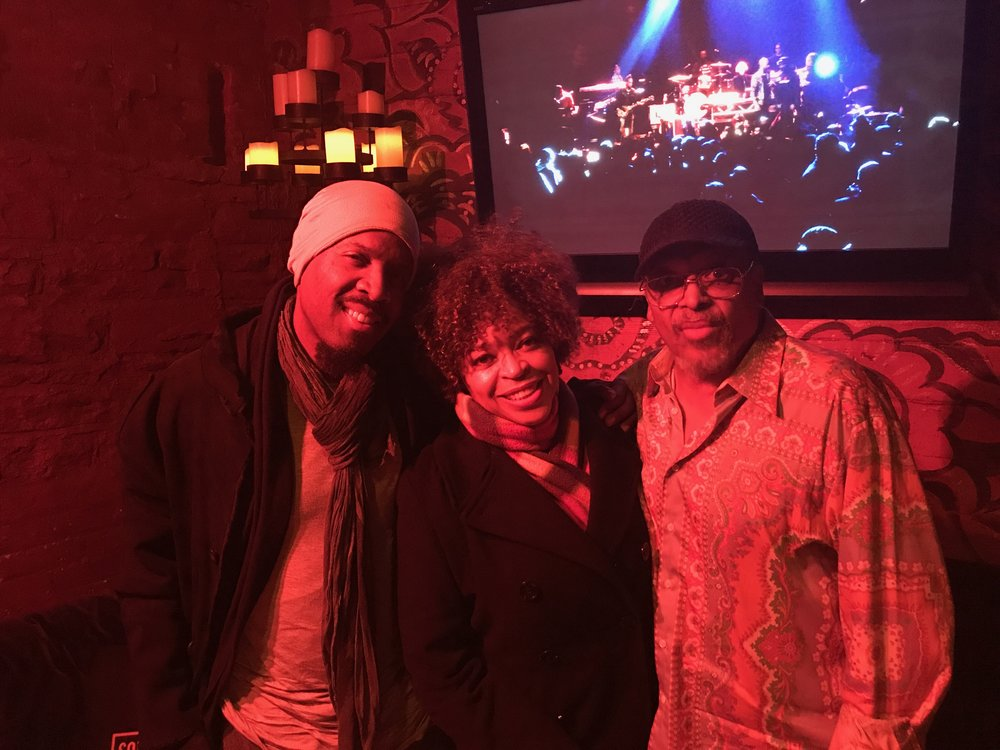 Michael Bearden, Tawatha and Mtume at #RootsJamSessions2018