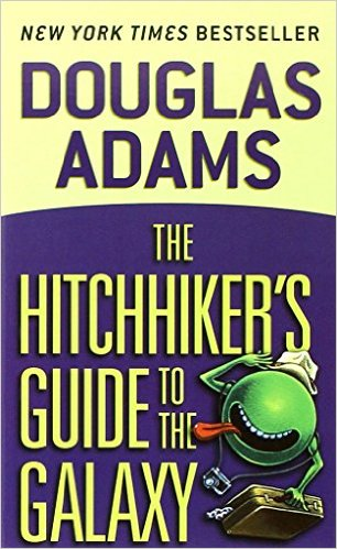 "The Hitchhiker's Guide to the Galaxy  by Douglas Adams  ""I was laughing out loud within the first 10 pages, all five books."""