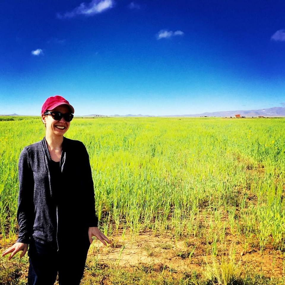 Lisa in Bolivia in March 2016. Her work regularly took her to Bolivia, Brazil, Colombia, and Peru from her home base in Quito, Ecuador.