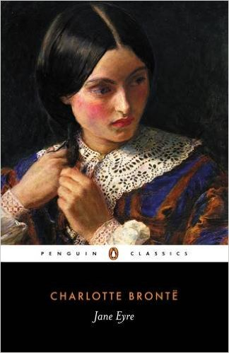 "Jane Eyre by Charlotte Bronte ""Read it in 4th grade... maybe a little young, but I loved it."""