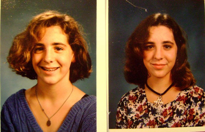 Monica's junior high school pictures
