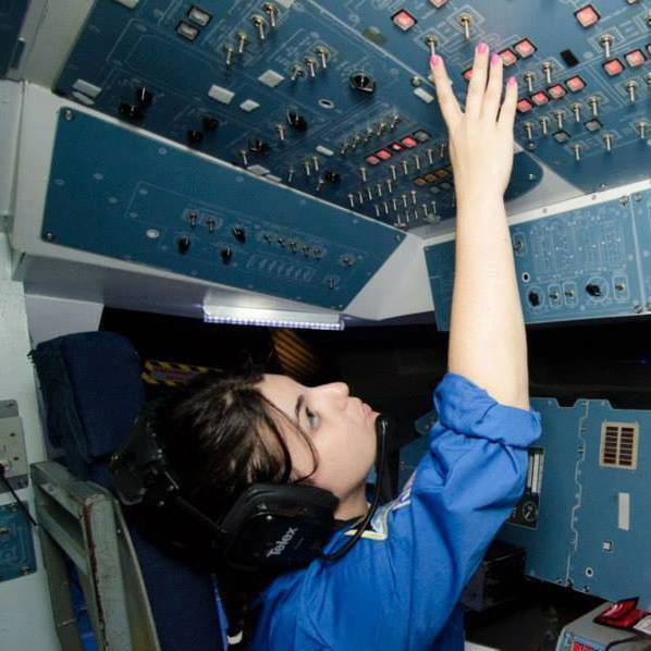 Danielle returned to space camp in 2013 for its teacher program. In addition to being a mission commander, Danielle also developed lessons she brought back to her students.