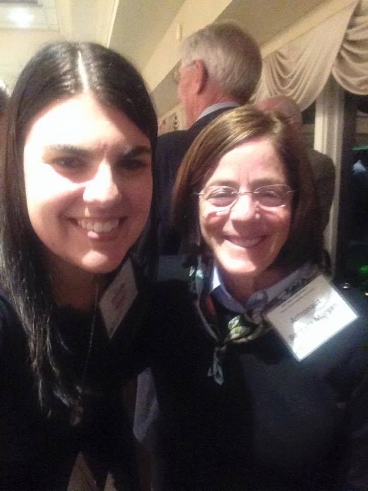 As a volunteer for the Space Walk of Fame Museum, Danielle met teacher and astronaut Barbara Morgan.