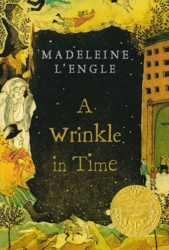 """A Wrinkle in Time  by Madeleine L'Engle  """" One of my favorite books as a kid. I really think it inspired me to become a scientist."""""""