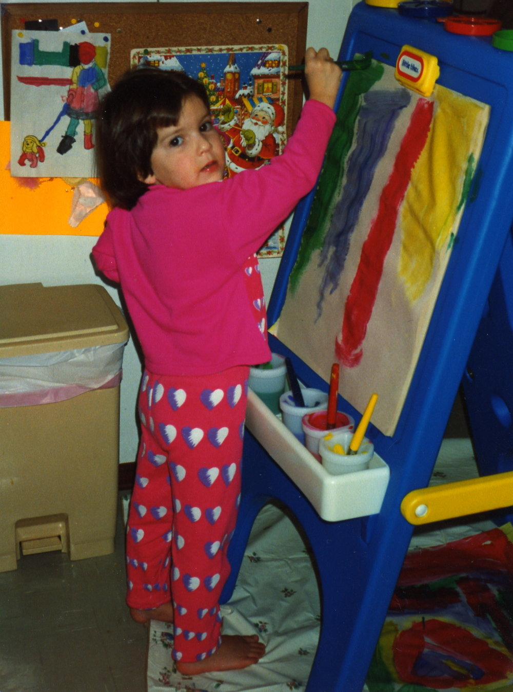Allison had the creative spirit from a young age.