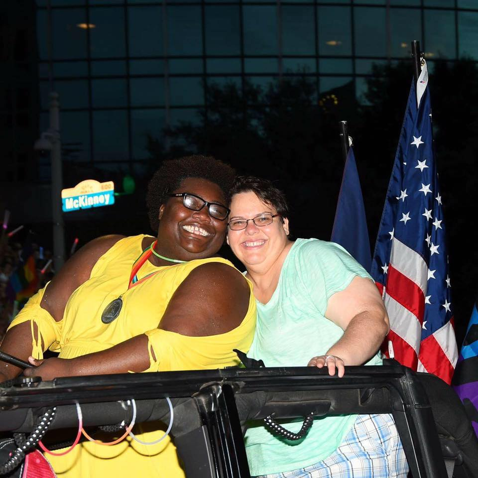 "Fran was Female Grand Marshal of the 2016 Houston Pride Parade. (The parade also has Male and Ally Grand Marshals.) She was selected for her ""outstanding accomplishments and contributions to the Houston LGBT Community."""