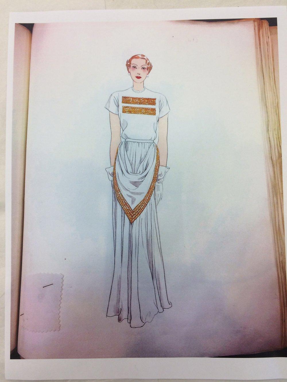Dress Design, Spring 1947