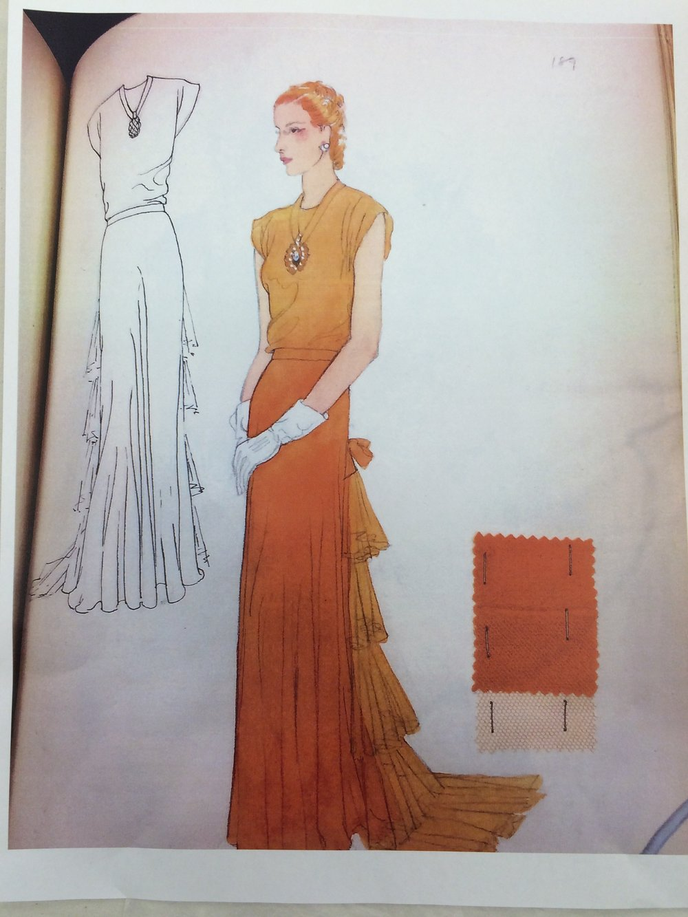 Dress Design, Fall 1946
