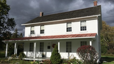 Harriet Tubman's home in Auburn, New York (Photo courtesy of the National Park Service)