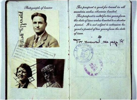 Women fought for the right to their own passports, instead of being add-ons to their husband's, like Zelda Sayre Fitzgerald on her husband, F. Scott Fitzgerald's.