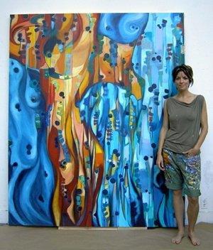 Teresa the artist