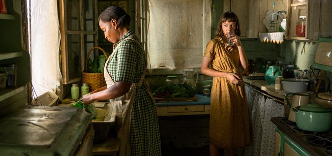 Mary J. Blige and Carey Mulligan in  Mudbound. (Image via New York Times)