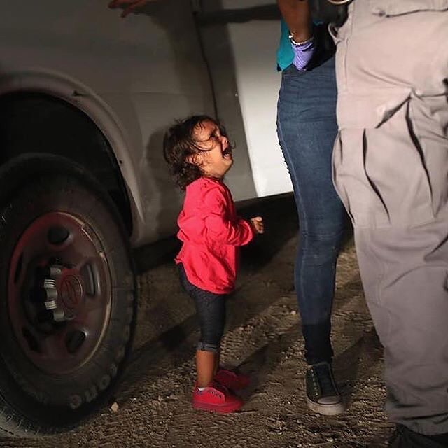 Words feel so inadequate to express my outrage, horror, and sorrow at the families seeking asylum being torn apart and the children being forcibly separated from their parents.  What can you do? - let your members of Congress know how you feel. The @aclu has information, guides, and phone scripts. - give: a) money to legal aid organizations, like RAICES or the ACLU or b) money or baby care goods to @baby2baby - protest! Marches are being planned for June 30th nationwide and other protests have been happening  How can any of us stay silent in the face of such unconscionable cruelty? (Photo by @jbmoorephoto)