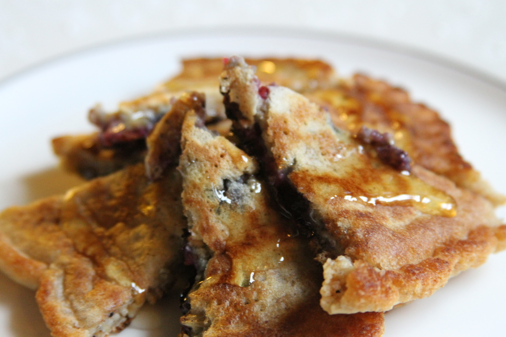 "Photo: Judy Finelli, ""Mixed Berry Multigrain Pancakes"""