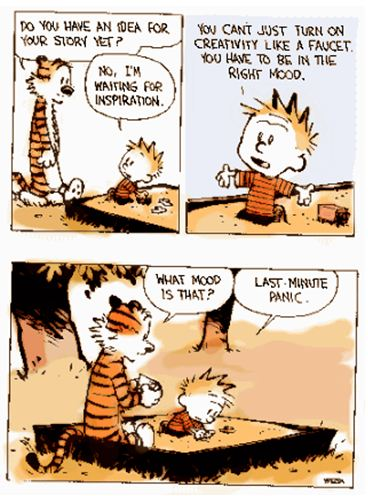 """Property of bill watterson, """"Calvin and Hobbes"""""""