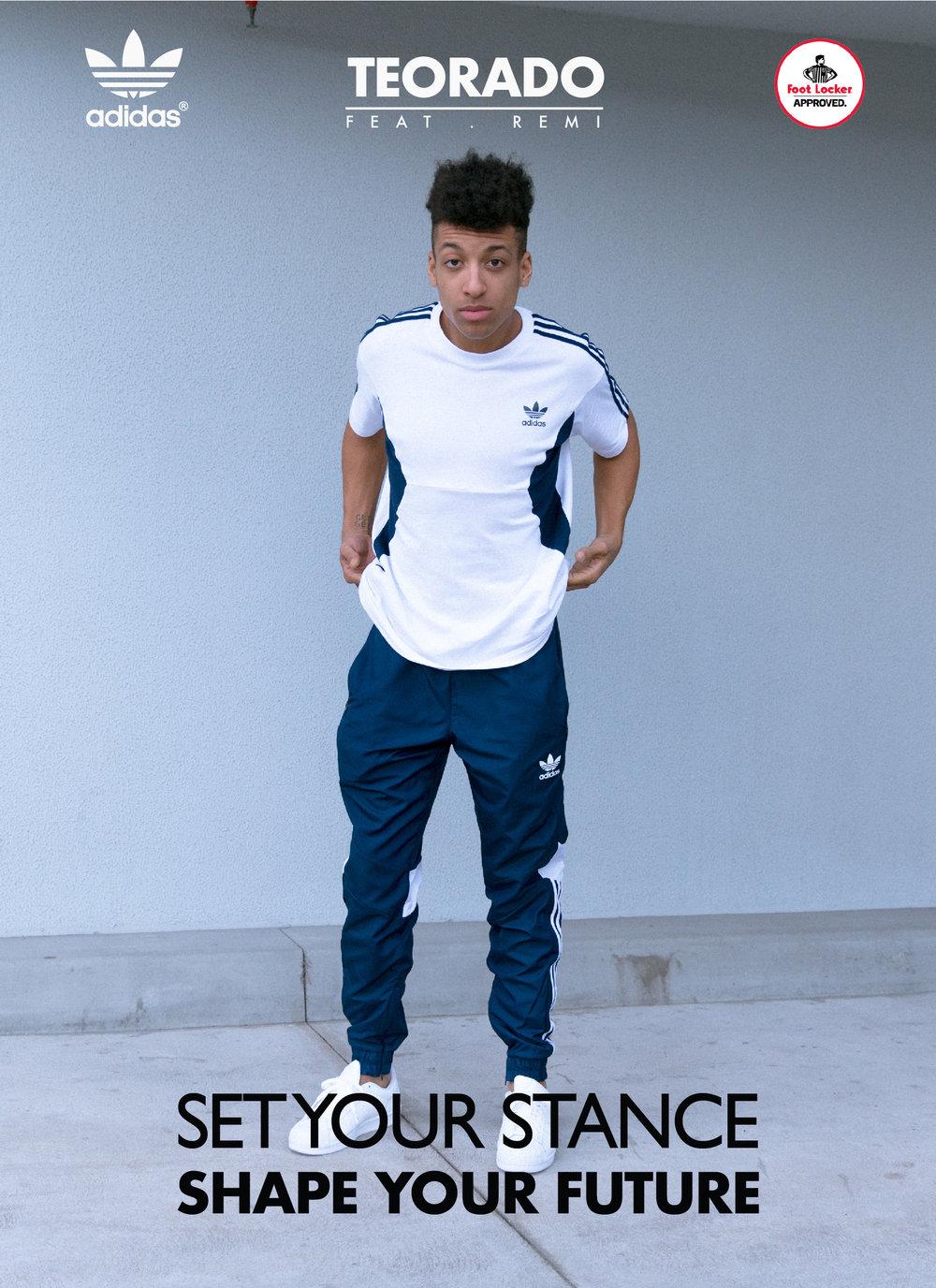 Adidas Originals x Foot Locker Campaign Feat. Remi