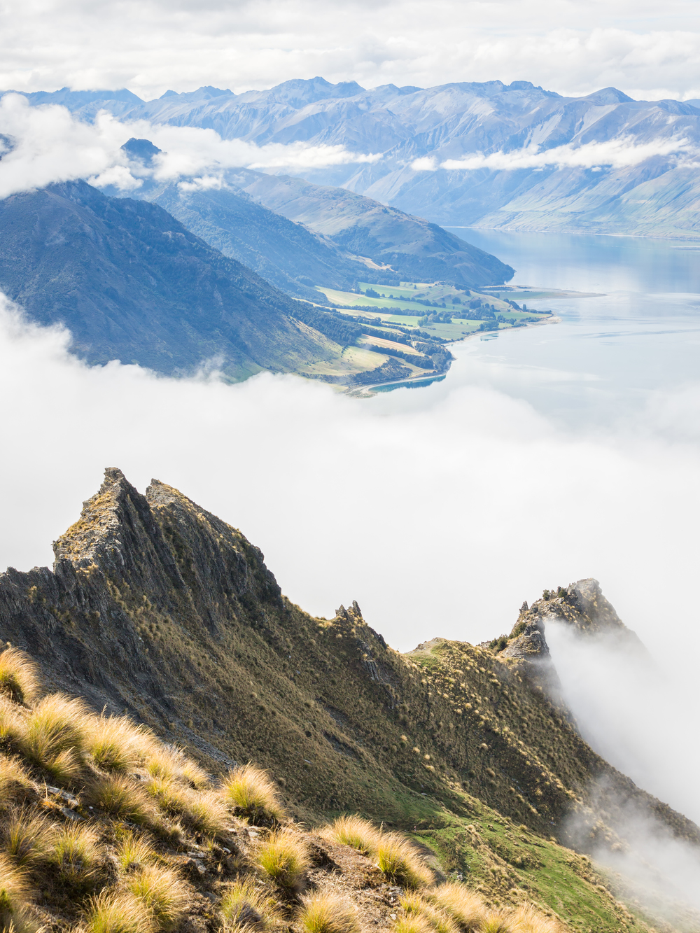 New Zealand Isthmus Peak