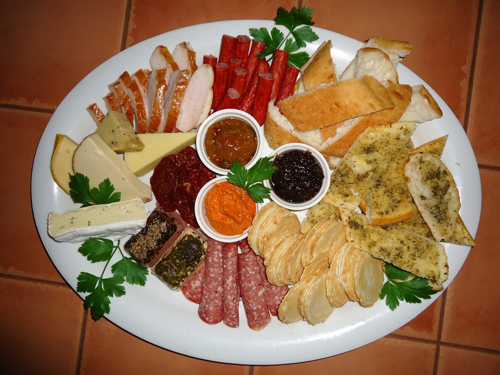 local produce food platter