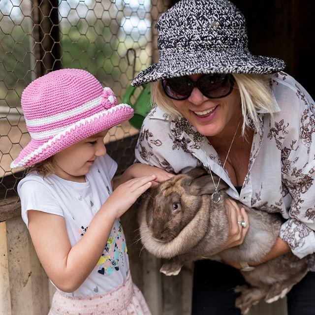 Meet, pet and feed our friendly rabbits, they love cuddles and attention. Just one of our farm activities held every morning to entertain the kids.