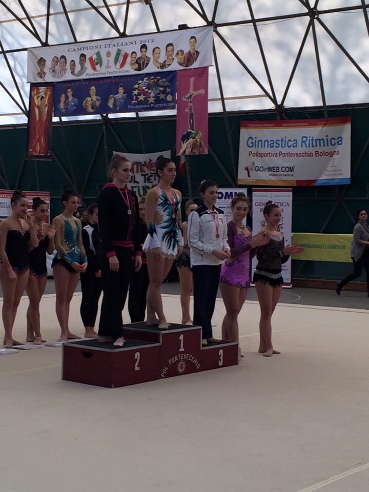 Elena Tiene terza classificata
