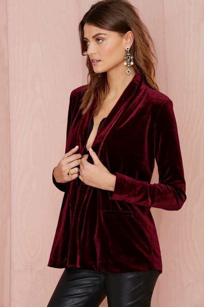 velvet crush dream blazer