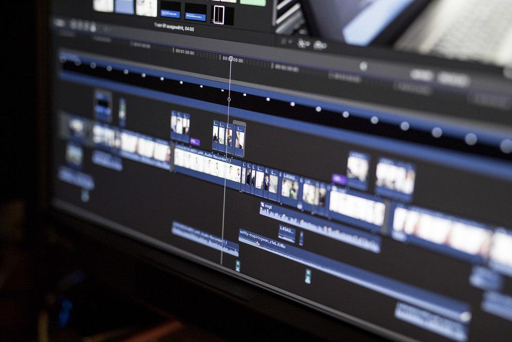 Die Timeline im Videoschnitt