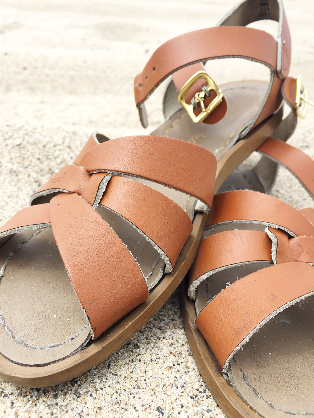 Salt Water Sandals Close-Up