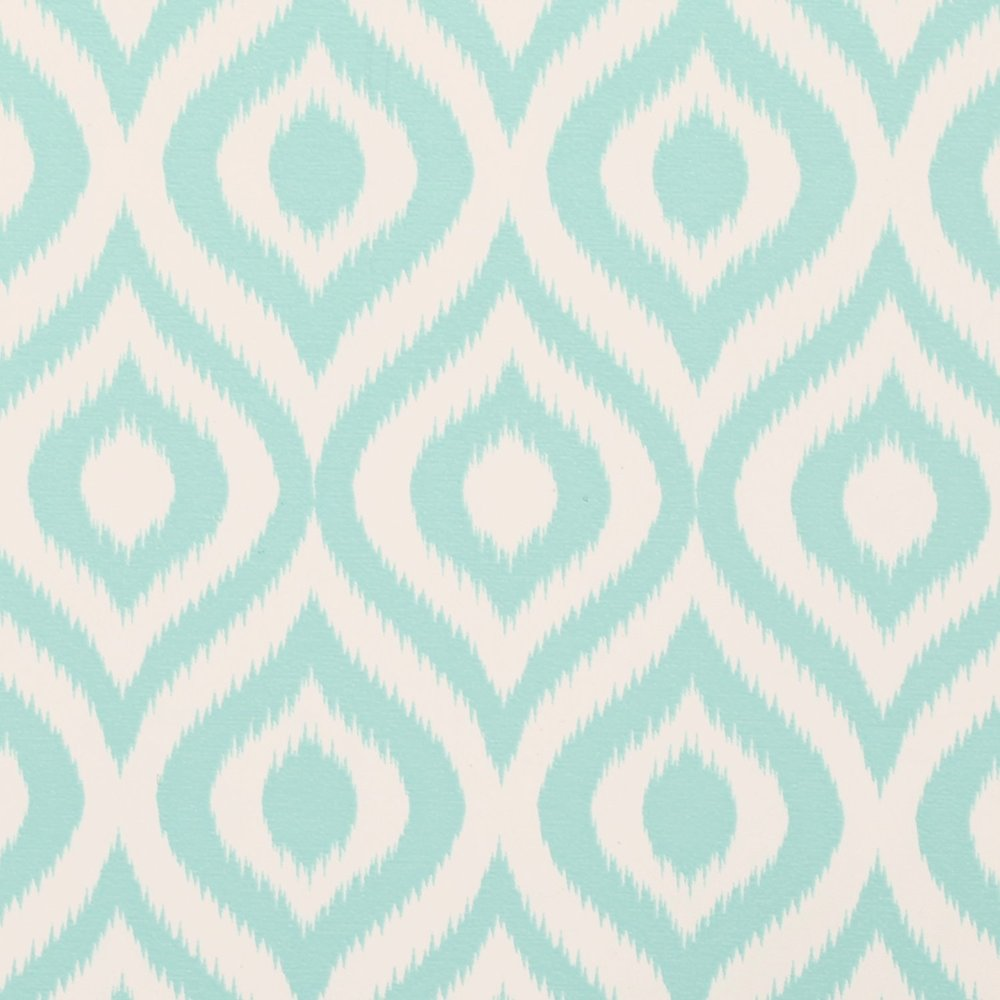 Blue pattern contact paper