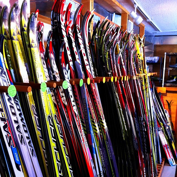 Skismøring har blitt risikosport. Bilde:  Brian Geisen ,  Flickr , CC-BY-2.0.