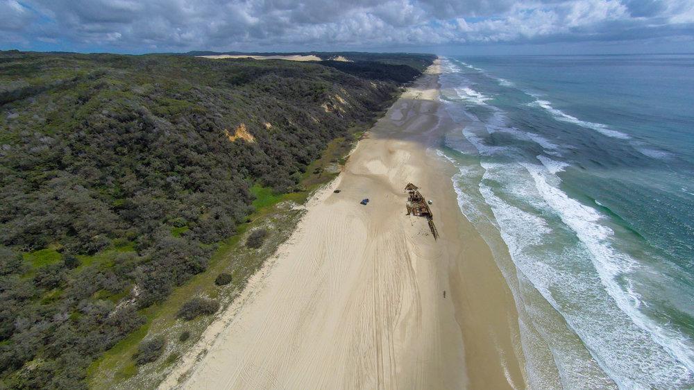 Maven wreck - Fraser Island (Australie)