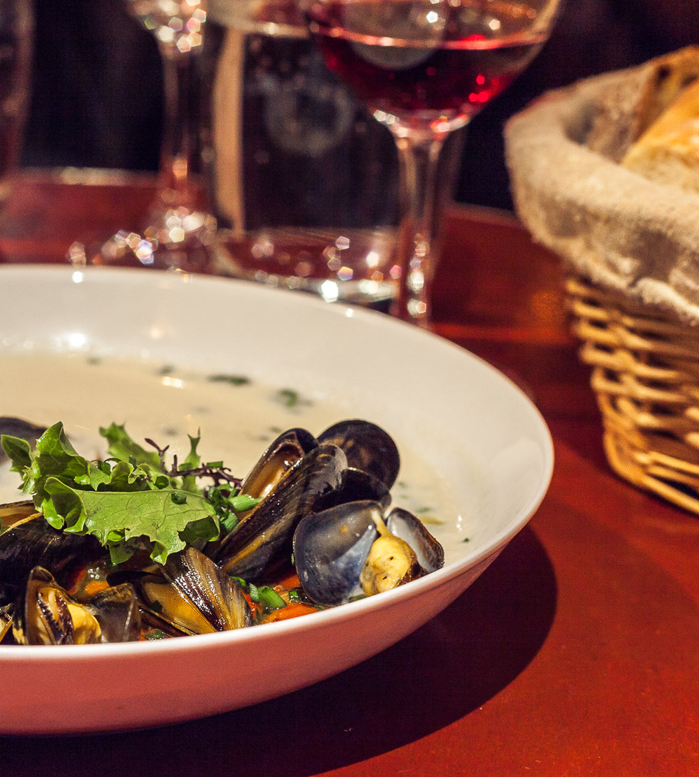 Moules for your mouth