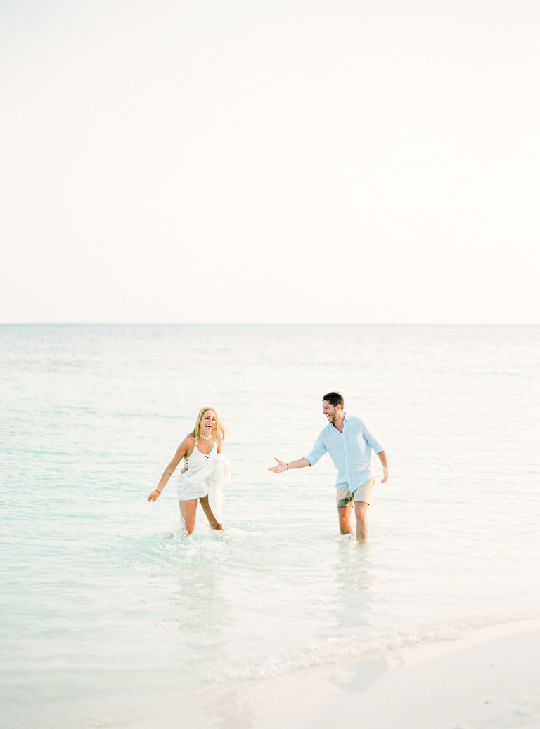 Maldives Engagement Session at the Beach