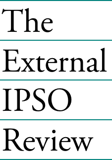 The External IPSO Review