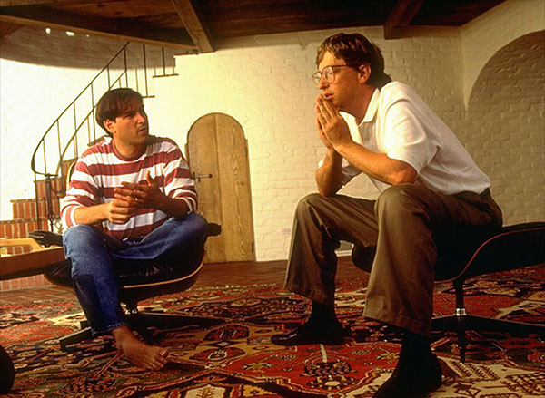 "Steve Jobs and Bill Gates: Computers are ""a bicycle for our minds"" Source:  https://apc.io/about/"