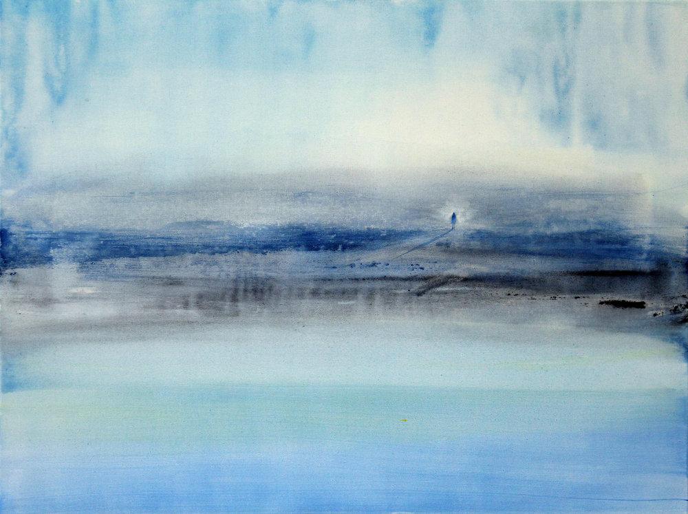 05_O.T.(Am Meer), 2017, Aquarell Acryl auf Baumwolle, 60x80cm.jpg