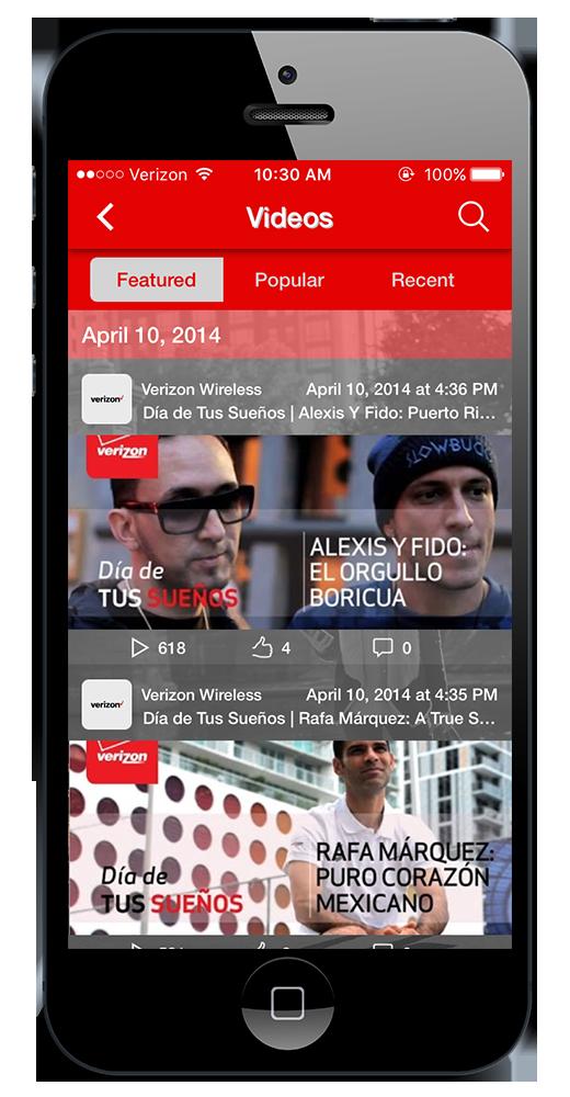 Mobile App Videos