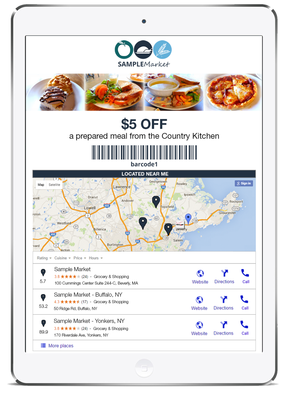 Smart Coupons — TracPoint