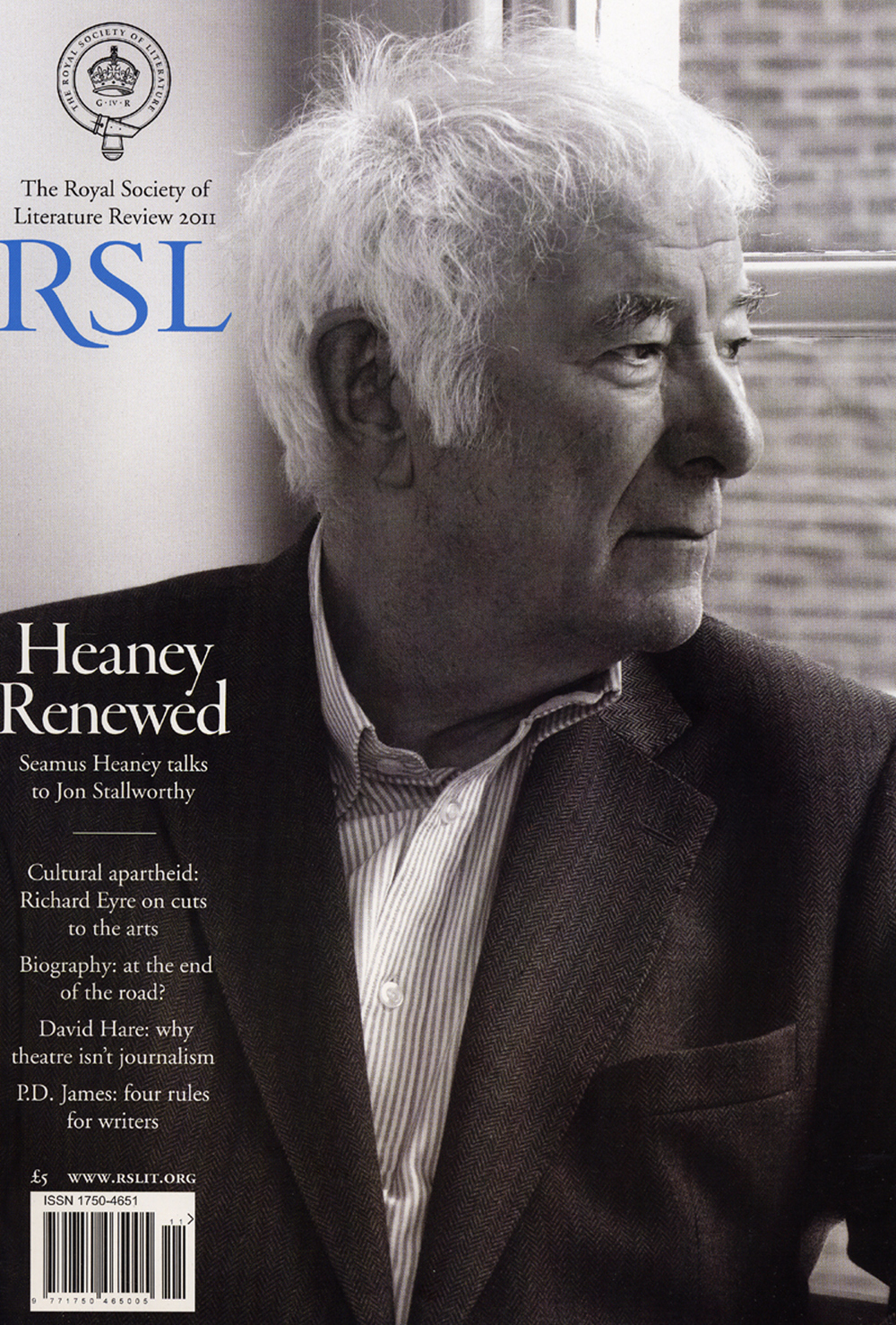 Seamus Heaney for RSL