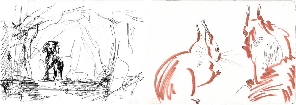 Watercolour & Ink 2012 © Sam Hamper