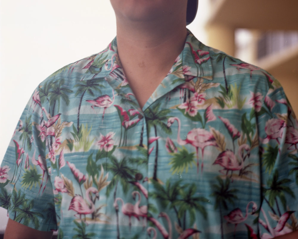 Is it really vacation without tropical, touristy shirts?  *swoon*