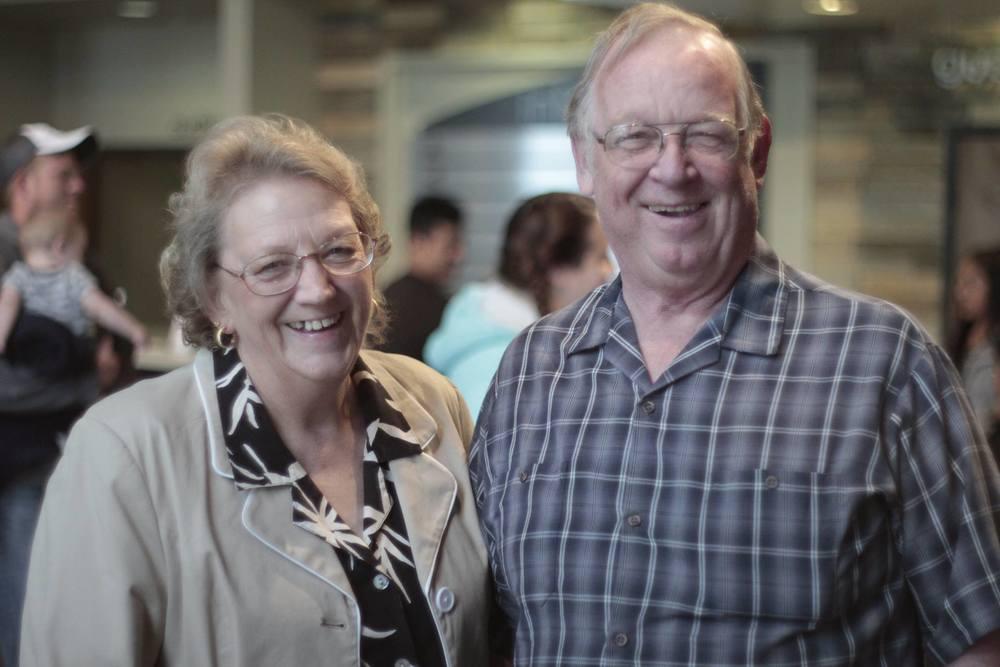 Arnie & Kathy Hamilton: July 2016