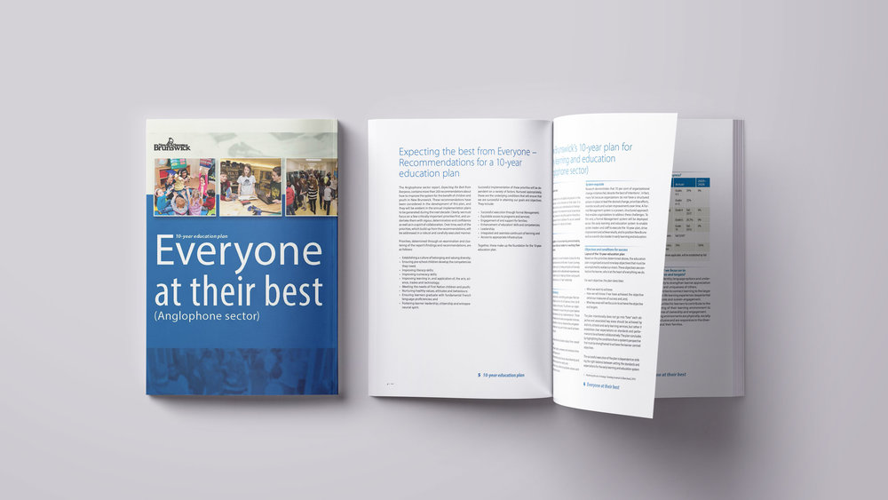 "Click here to download NB's 10-year Education Plan, ""Everyone at their Best"""