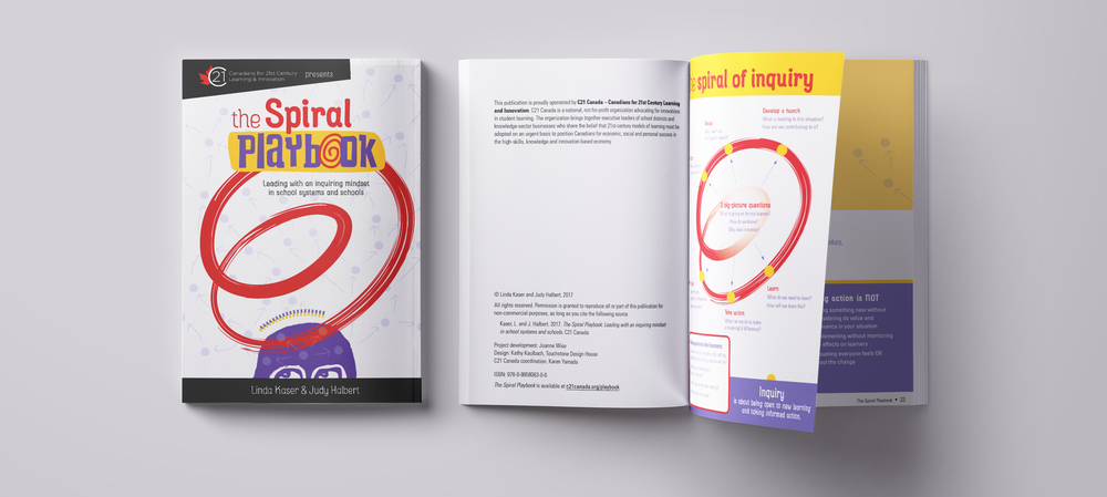 C21's Spiral Playbook describes a sustainable approach to professional inquiry that aims to transform how educators learn and lead – with teams and across networks.