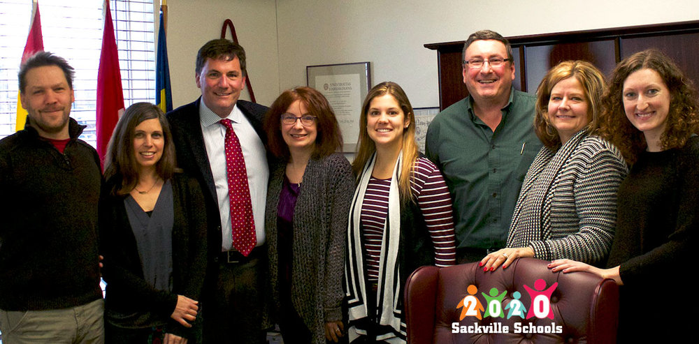 Since 2015, SS2020 volunteers have consulted with educational experts and met political leaders, including the Hon. Dominic LeBlanc, MP, to discuss a community-based vision for education in Sackville.